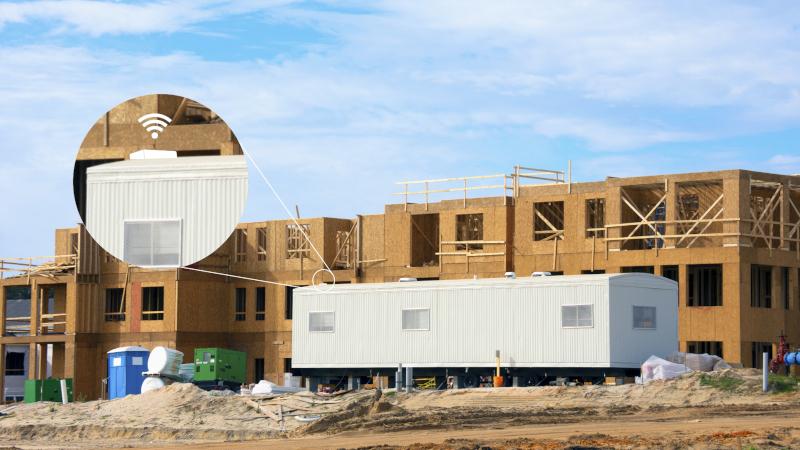 gps σε κατασκευή συγκροτήματος κατοικιών