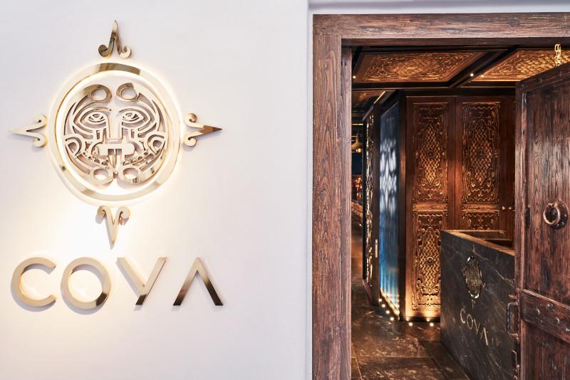 Η είσοδος του COYA Mykonos