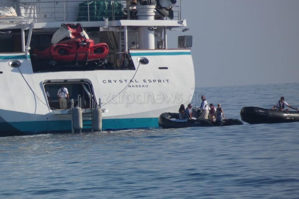 κρουαζιεροπλοιο βαρκες