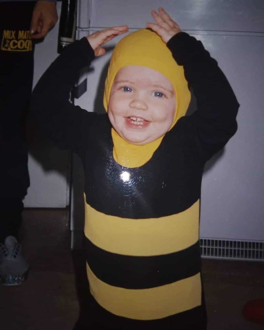Η Δανάη Μιχαλάκη... μικρή μελισσούλα