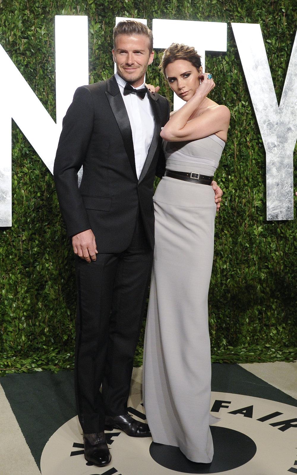 Ντέιβιντ και Βικτόρια Μπέκαμ σε πάρτι του Vanity Fair πριν από επτά χρόνια