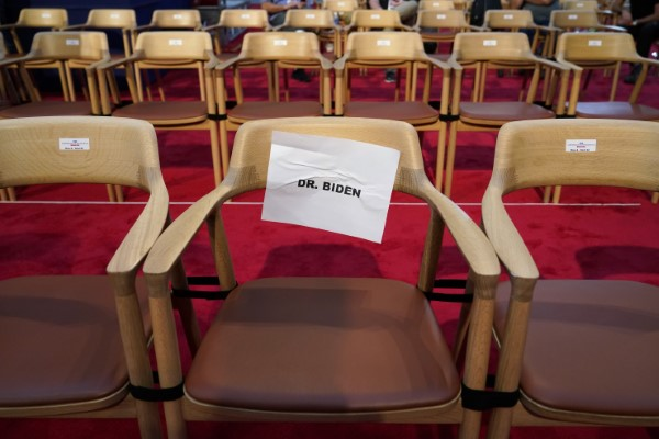 Η καρέκλα του Μπάιντεν