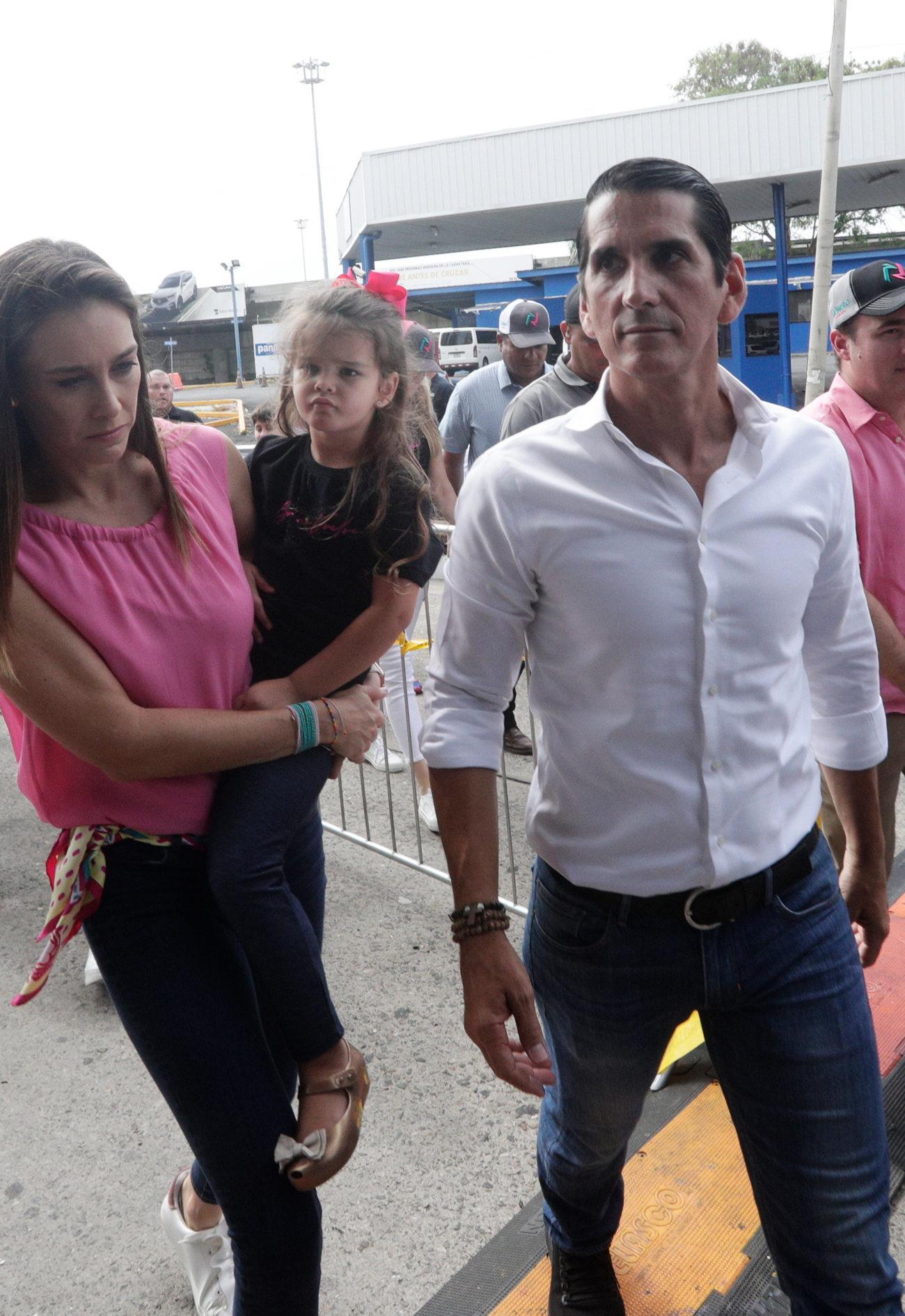 Ο δεξιός προεδρικός υποψήφιος στον Παναμά Ρομούλο Ρουξ που αμφισβητεί τη νίκη του Κορτίζο