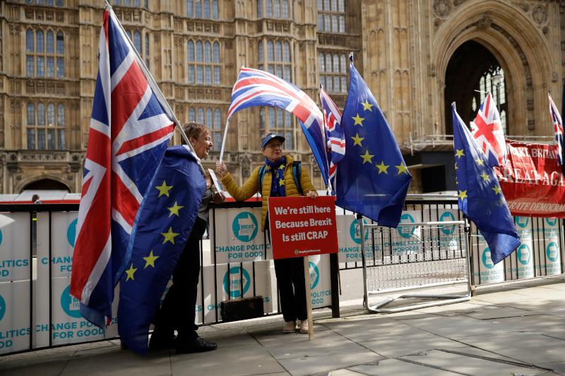 Οι Βρετανοί εξέφρασαν την αντίθεσή τους για τις ενέργειες του Μπόρις Τζόνσον στο ζήτημα του Brexit / Φωτογραφία: AP