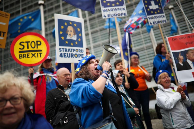 Οι διαδηλωτές ζητούσαν νέο δημοψήφισμα για το Brexit / Φωτογραφία: AP