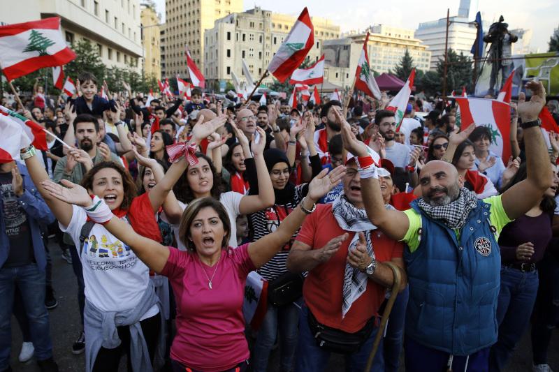 Μαζικές διαδηλώσεις στον Λίβανο