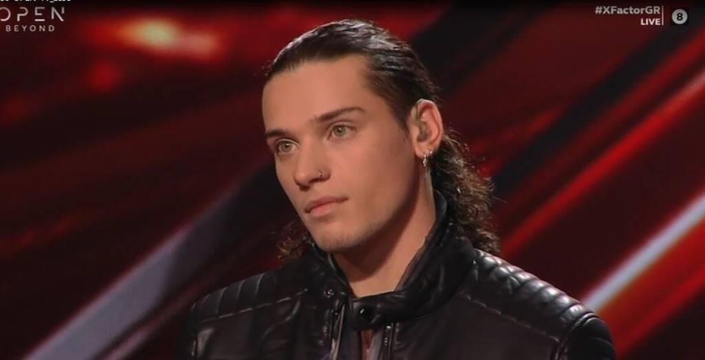 Ο διαγωνιζόμενος του X-Factor Δημήτρης Παπατσάκωνας