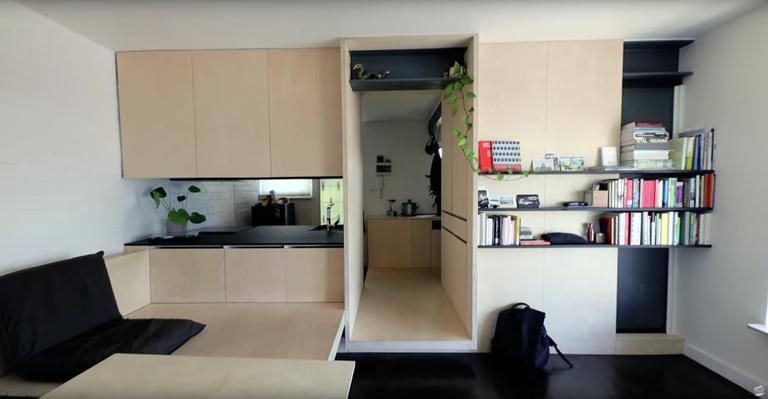 Σε 27 τμ χώρεσαν τα πάντα με έξυπνο τρόπο σε αυτο το μικρό σπίτι