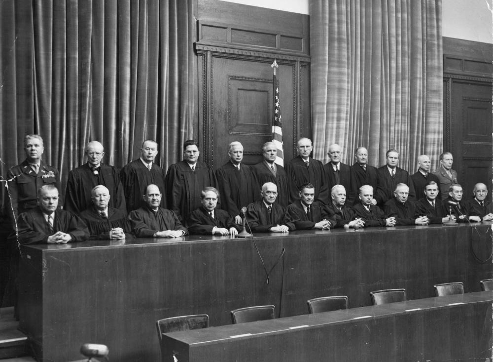 Οι δικαστές από τις ΗΠΑ στη Δίκη της Νυρεμβέργης