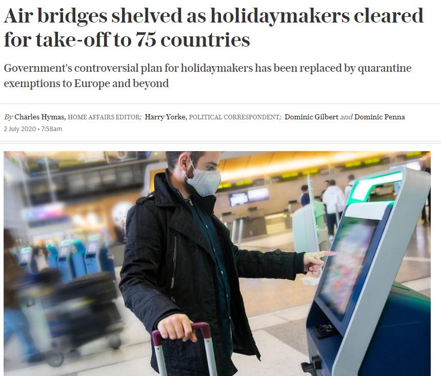Το δημοσίευμα της Daily Telegraph