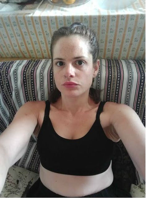 Η νεαρή δημοσιογράφος σήμερα έπειτα από προσπάθεια χρόνων να χάσει τα περιττά κιλά