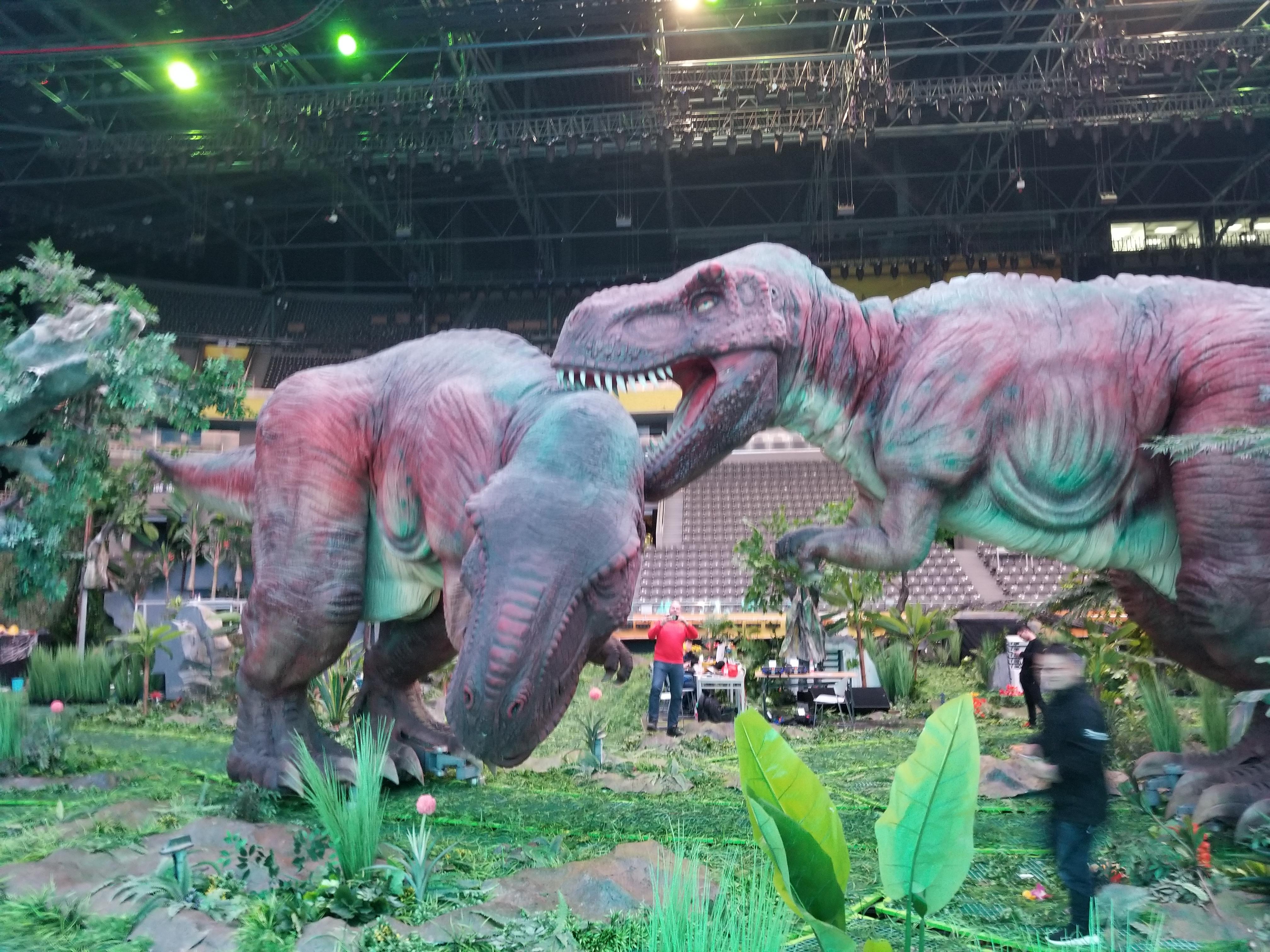 Πάρκο με δεινόσαυρους  ρομπότ