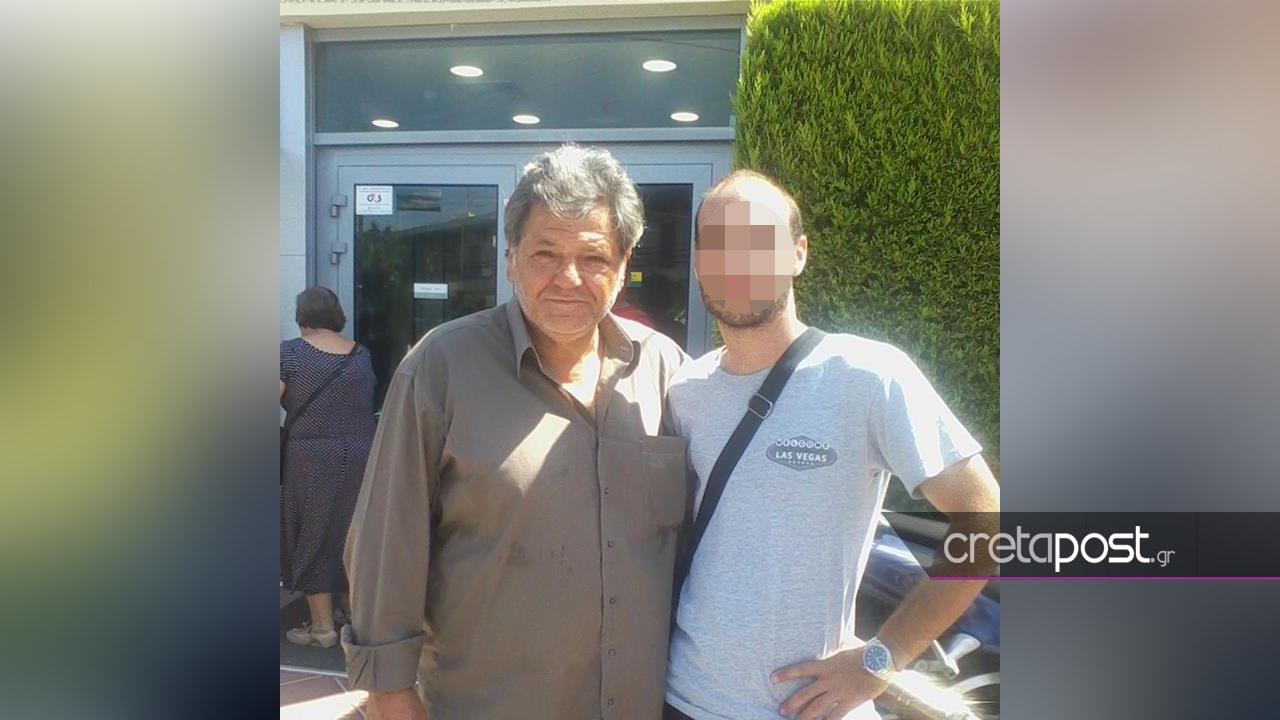 Ο 27χρονος με τον ηθοποιό, Γιώργο Παρτσαλάκη
