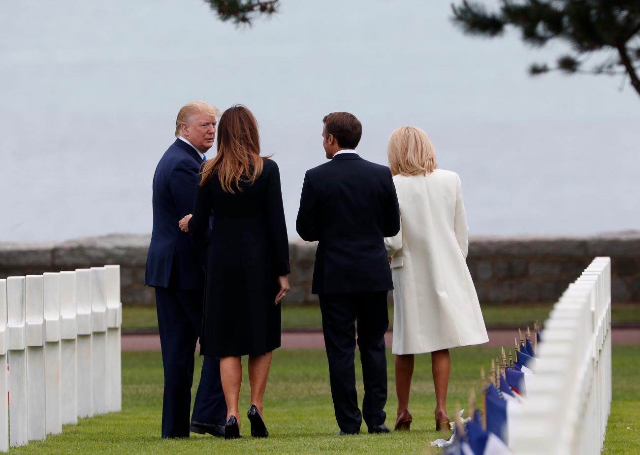 Τραμπ και Μακρόν στη Νορμανδία για την επέτειο της D-Day