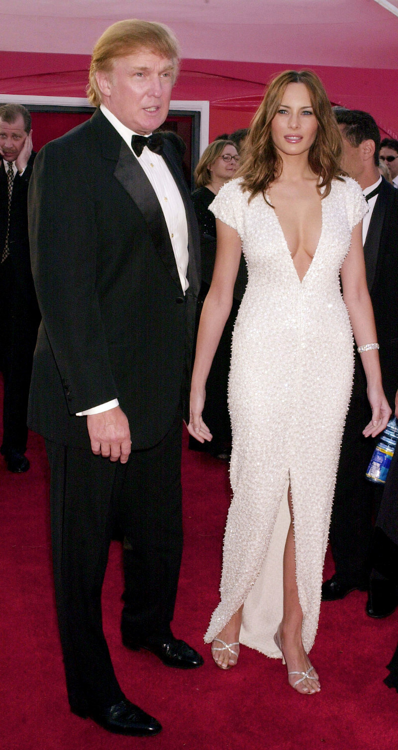Ντόναλντ και Μελάνια Τραμπ σε κοινή τους εμφάνιση πριν τον γάμο τους το 2001