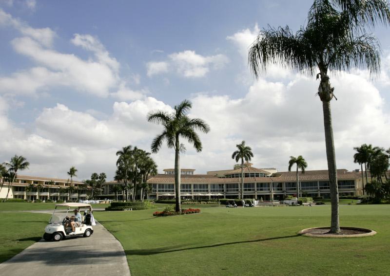 Το θέρετρο γκολφ Doral κατέγραψε μεγάλες ζημίες που φτάνουν τα 125 εκατομμύρια δολάρια