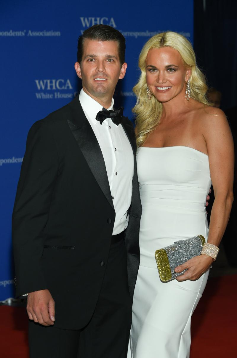 Ντόναλντ Τραμπ τζούνιορ με την σύζυγό του Βανέσσα
