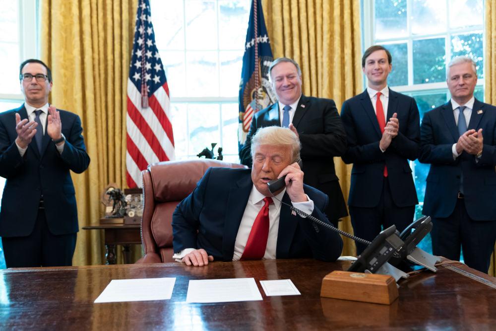 Ο Ντόναλντ Τραμπ στο Οβάλ Γραφείο