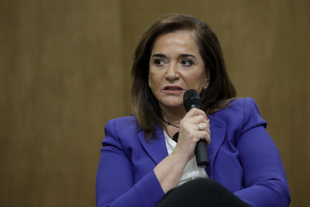 Η Ντόρα Μπακογιάννη στη συζήτηση για τα ελληνοτουρκικά του ΕΛΙΑΜΕΠ