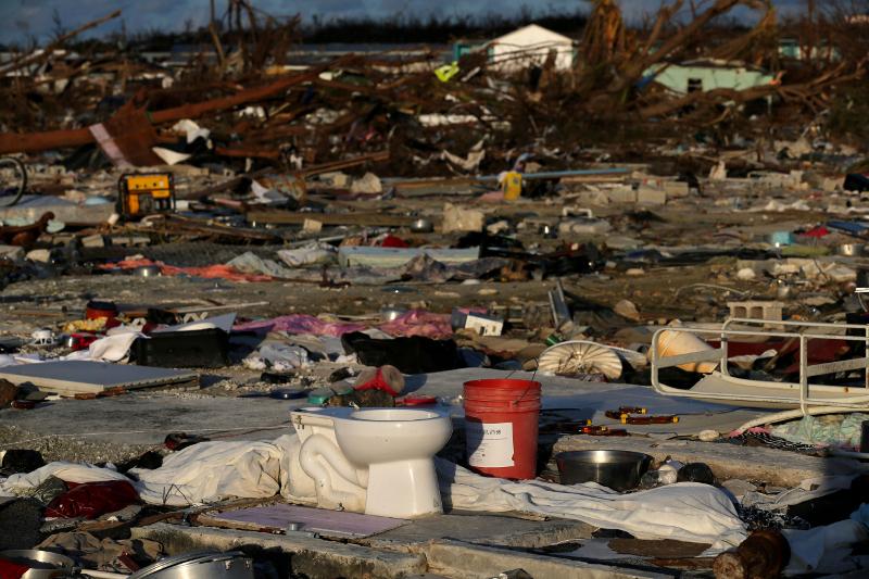 Μεγάλες καταστροφές στις Μπαχάμες / Φωτογραφία: AP