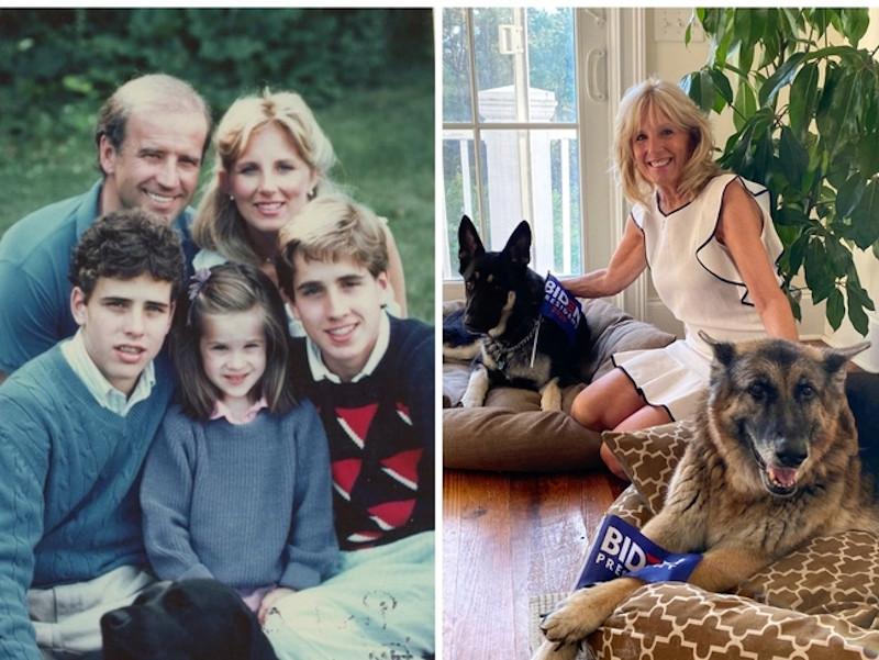 H οικογένεια του Τζο Μπάιντεν και η νέα Πρώτη Κυρία των ΗΠΑ, Τζιλ Μπάιντεν
