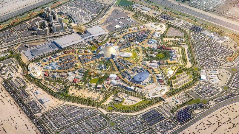 Το εκθεσιακό κέντρο Expo 2020 στο Ντουμπάι