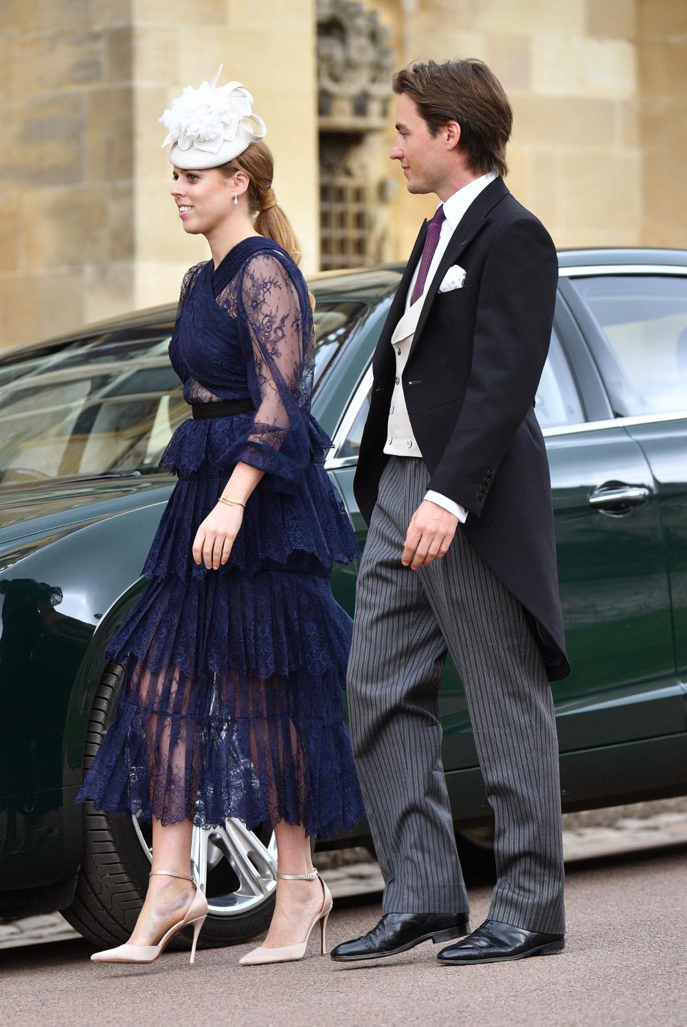 Η επόμενη επίσημη δημόσια εμφάνιση ήταν στον βασιλικό γάμο της λαίδης Γκαμπριέλα Γουίνδσορ