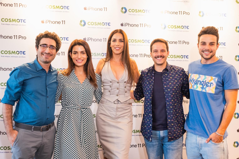 (από αριστερά) Λάμπρος Φισφής, Τόνια Σωτηροπούλου, Κατερίνα Στικούδη, Δημήτρης Μακαλιάς, Άρης Μακρής