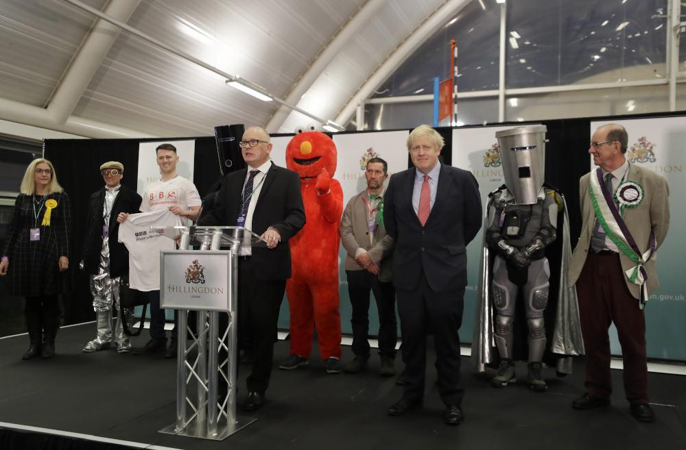 Όλοι οι υποψήφιοι στην περιφέρεια του Άξμπριντζ, όπου διεκδικούσε την έδρα ο Μπόρις Τζόνσον στις εκλογές στη Βρετανία