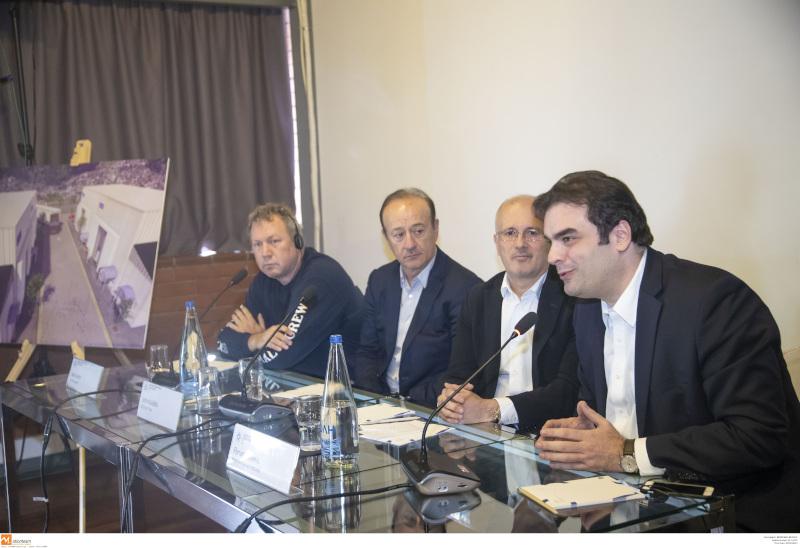 Ο Κυριάκος Πιερρακάκης μίλησε για τα κινηματογραφικά στούντιο που θα δημιουργηθούν στη Θεσσαλονίκη / Φωτογραφία: ΑΠΕ-ΜΠΕ