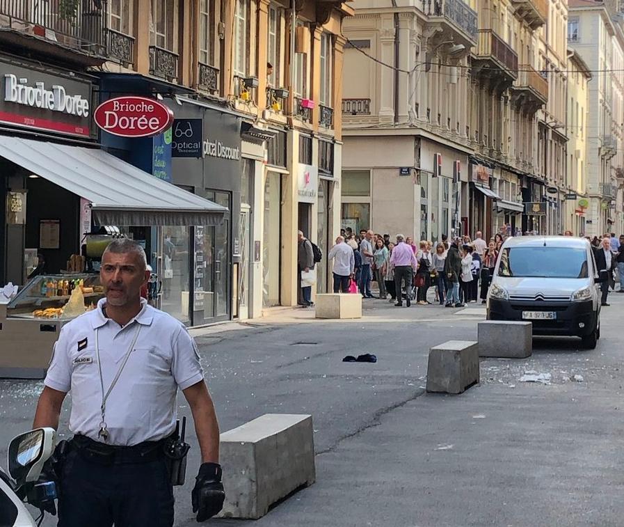 Η έκρηξη έγινε σε πεζόδρομο στο κέντρο της Λιόν στη Γαλλία