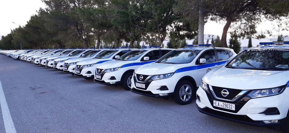 Αυτά είναι τα νέα αυτοκίνητα της Ελληνικής Αστυνομίας