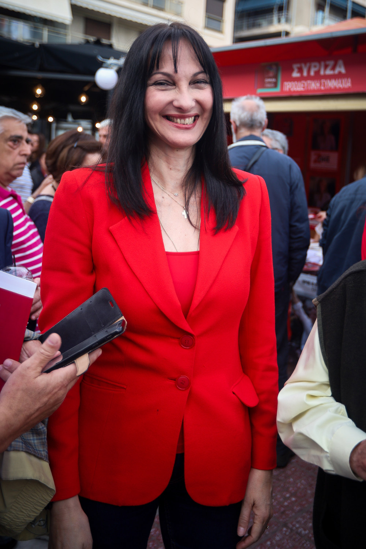 H Ελενα Κουντουρά είναι η μόνη γυναίκα που εκλέγεται ευρωβουλευτής με το ψηφοδέλτιο του ΣΥΡΙΖΑ