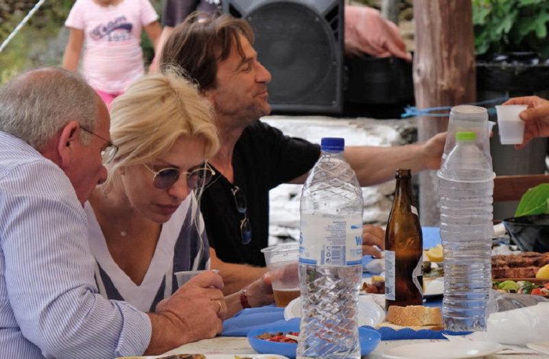 Ελένη Μενεγάκη και Ματέο Παντζόπουλος
