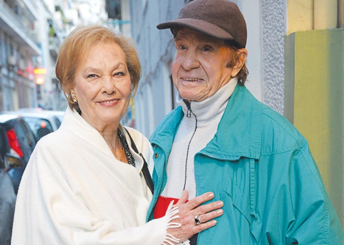 Η Ελένη Προκοπίου σήμερα με τον Δημήτρη Ιβανώφ
