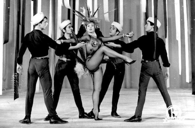 Χορεύτρια στον ελληνικό κινηματογράφο η Προκοπίου