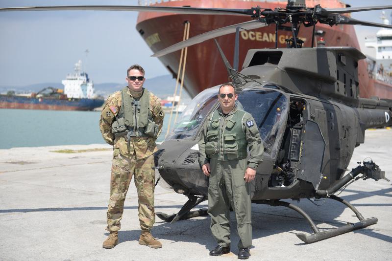 Ελικόπτερα στο λιμάνι του Βόλου