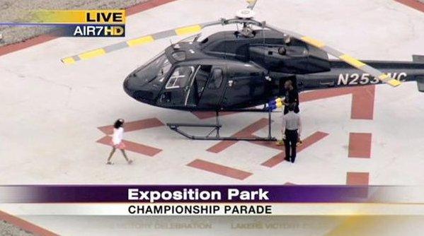 Τηλεοπτικό δίκτυο είχε καταγράψει κάποια από τις πτήσεις του Κόμπε Μπράιαντ με ελικόπτερο