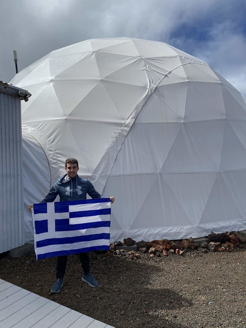 O Ελληνας εκπαιδευόμενος αστροναύτης