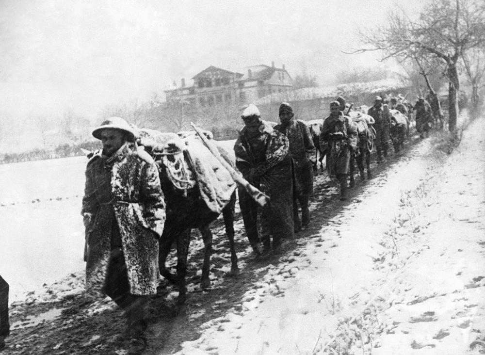 Οι εξαιρετικά δύσκολες συνθήκες στα βουνά φαίνεται πως ευνόησαν τους Έλληνες στρατιώτες το 1940