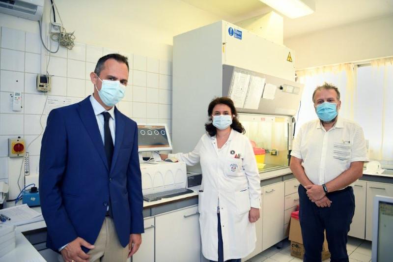 Ομιλος ΕΛΠΕ: Νέα δωρεά 3.000 τεστ και συστήματος διάγνωσης Covid-19 στο Θριάσιο Νοσοκομείο | ΥΓΕΙΑ | iefimerida.gr