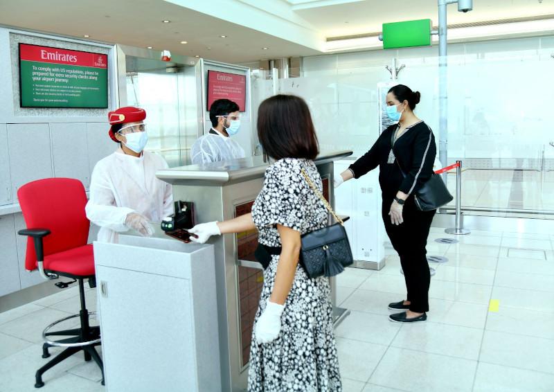 Οι επιβάτες θα πρέπει να φορούν μάσκες από το check-in μέχρι την αποβίβασή τους