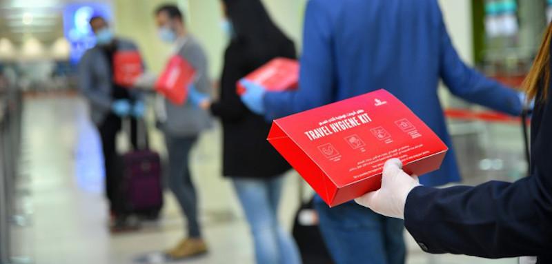 Το κιτ υγιεινής που θα παίρνουν οι επιβάτες πριν την επιβίβαση
