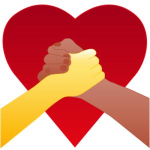 Emoji χέρια σε καρδιά