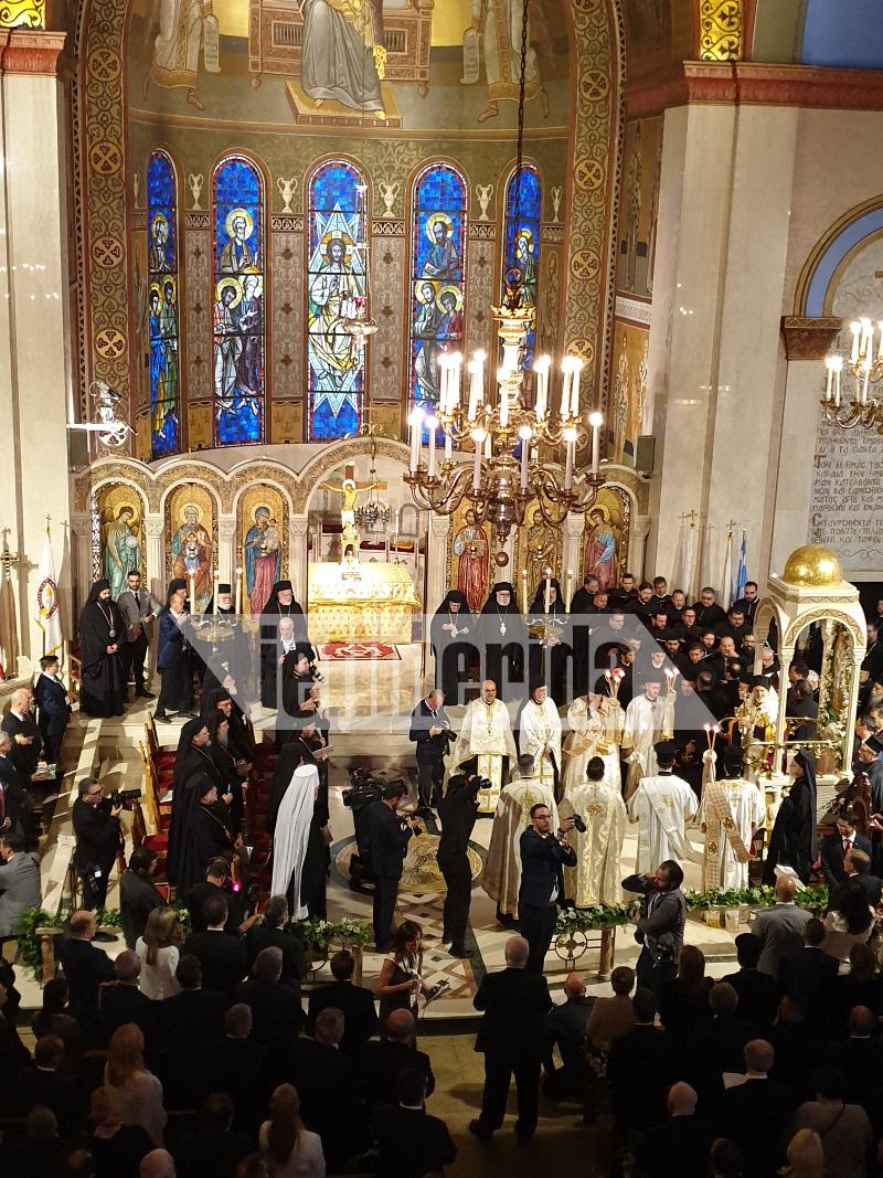 ενθρόνιση νέου αρχιεπισκόπου Αμερικής