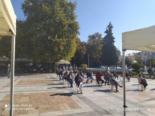 Σέρρες: Ο ΕΟΔΥ έκανε 271 δωρεάν rapid test σε πολίτες -Τα 32 βρέθηκαν θετικά