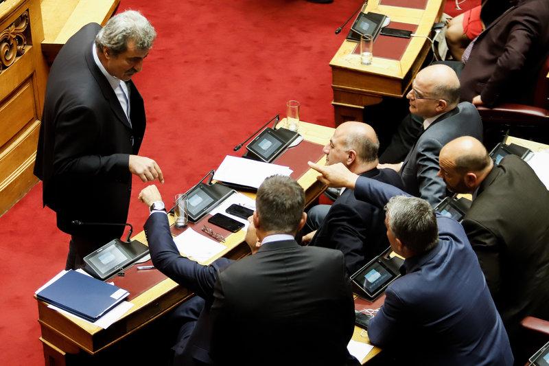 Επεισόδιο Πολάκη- Μητσοτάκη στη Βουλή