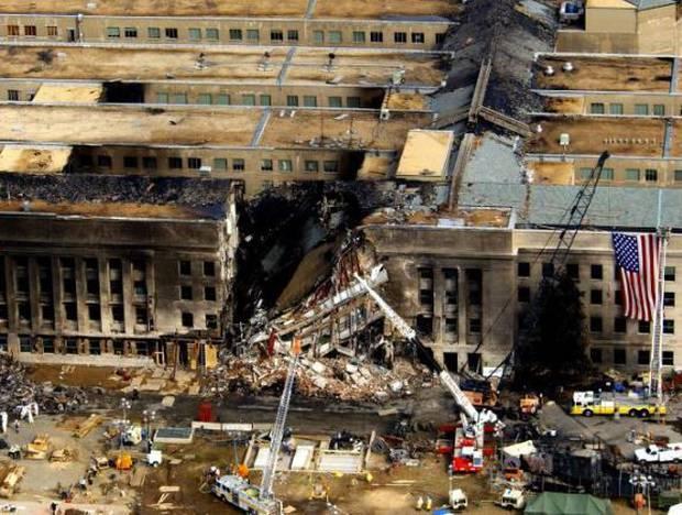 τρομοκρατική επίθεση στο αμερικανικό πεντάγωνο 11η Σεπτεμβριου 2001