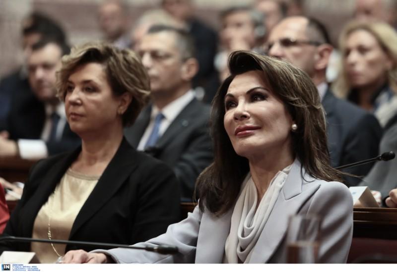 Επιτροπή 2021 Γιάννα Αγγελοπούλου Βουλή  Κυριάκος Μητσοτάκης Ολγα Γεροβασίλη