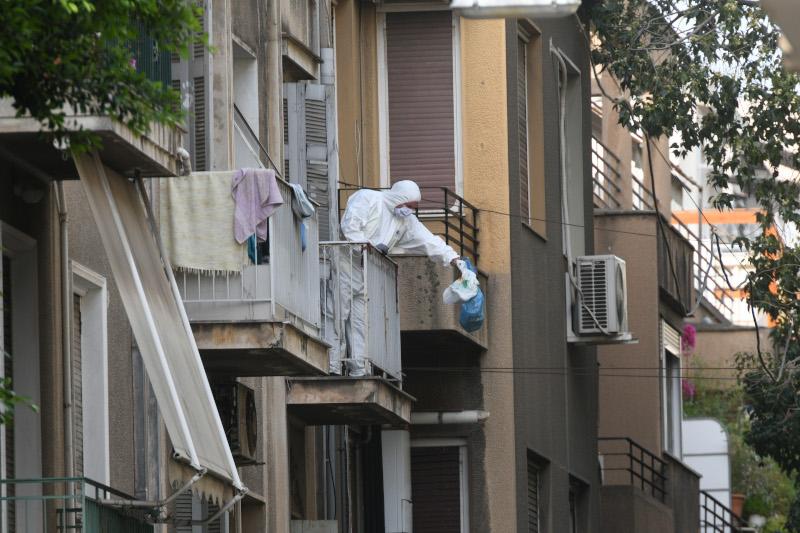 Εκκένωση κτιρίου στα Εξάρχεια
